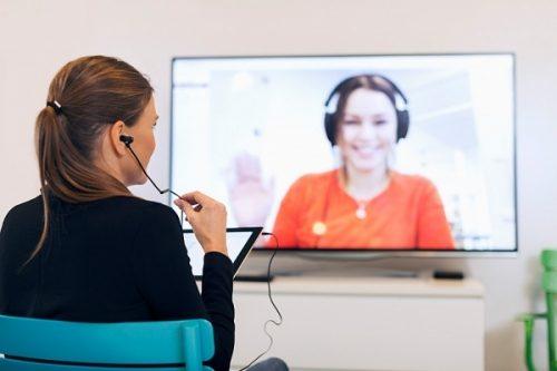 videoconferenza per 1 ora